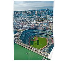 Giants SF Stadium Poster