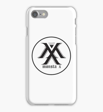monstax black iPhone Case/Skin