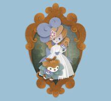 Marie Antoinette and Skiddo by peppertea