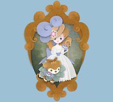 Marie Antoinette and Skiddo Unisex T-Shirt
