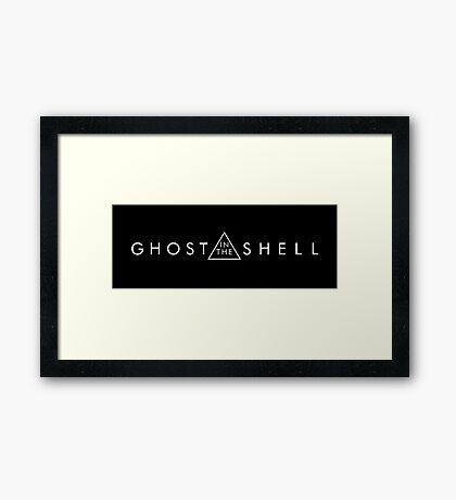 ghost in the shell movie Framed Print