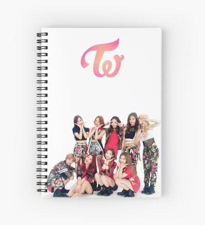 twice Spiral Notebook