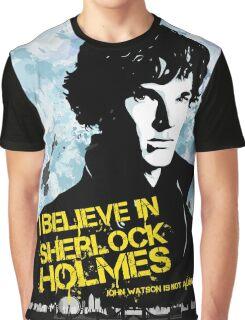 I believe in Sherlock Holmes Graphic T-Shirt