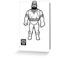Hasbro Series 1 Akeem Greeting Card