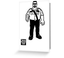 Hasbro Series 1 Big Boss Man Greeting Card