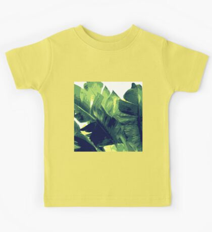 Banana Leaf Kids Tee
