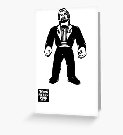 Hasbro Series 1 Million Dollar Man Greeting Card