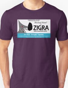 Zigra Medicine Unisex T-Shirt