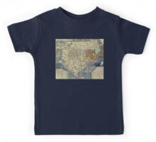 Japanese Map of Asia - 1710 Kids Tee