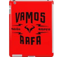 "Rafael Nadal ""Pasion&Respeto"" iPad Case/Skin"