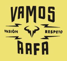 "Rafael Nadal ""Pasion&Respeto"" Kids Clothes"