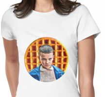 011 - Give Me My Waffle Womens Fitted T-Shirt
