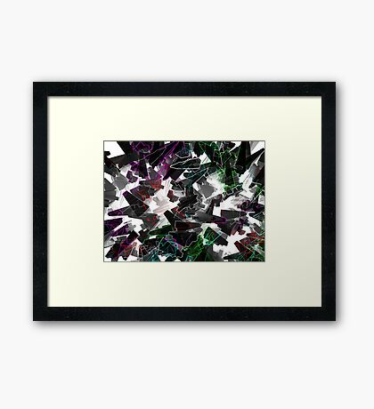 Science Fiction Abstract Framed Print