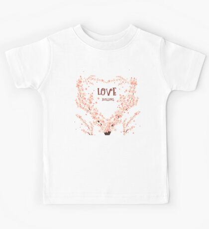 Love blossoms Kids Tee