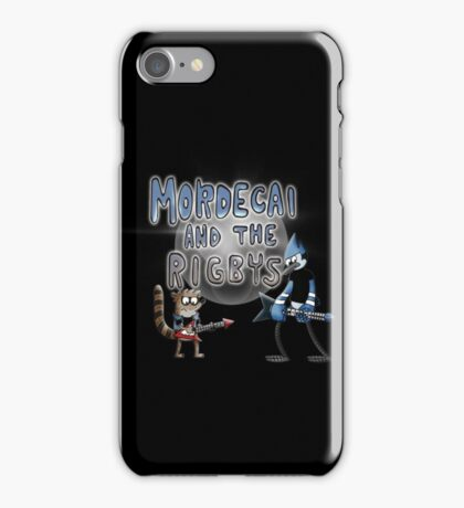 toon mordecai and the rigbys iPhone Case/Skin