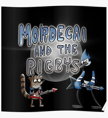toon mordecai and the rigbys Poster