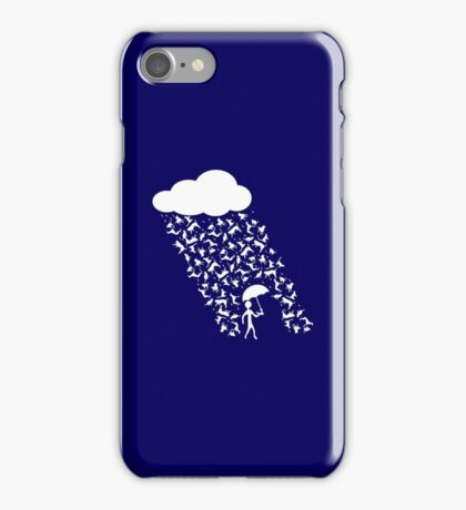 Raining Cats and Dogs iPhone Case/Skin