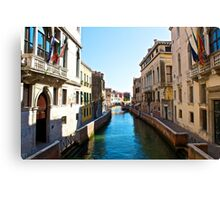 A 'Day In Venice'  Canvas Print
