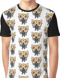 Aggretsuko Mad Graphic T-Shirt