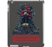 Throne of games iPad Case/Skin