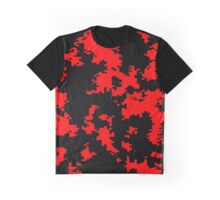 Camo - Red and Black 2 Graphic T-Shirt