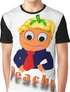Blond Peachy Graphic T-Shirt