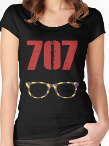 707 , Mystic Messenger Collection Women's Fitted Scoop T-Shirt