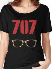 707 , Mystic Messenger Collection Women's Relaxed Fit T-Shirt