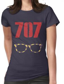 707 , Mystic Messenger Collection Womens Fitted T-Shirt