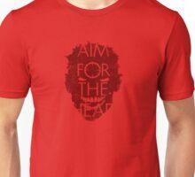 AIM FOR THE HEAD - Zombie advice Unisex T-Shirt