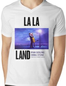 La La II Mens V-Neck T-Shirt
