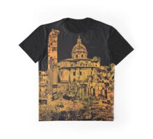 Rome - Golden Imperial Forums  Graphic T-Shirt