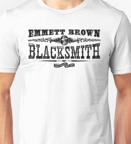 Emmett Brown Blacksmith - Back to the Future Inspired Design Unisex T-Shirt