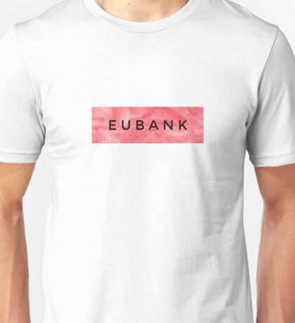 EUBANK [Red] (Clothes, Phone Cases More) Unisex T-Shirt