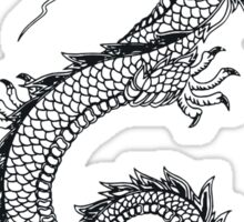 Chinese traditional dragon Sticker