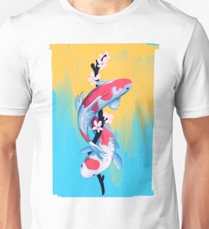 Koi Blossoms Unisex T-Shirt