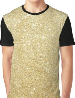 Golden Luxury Diamond Graphic T-Shirt