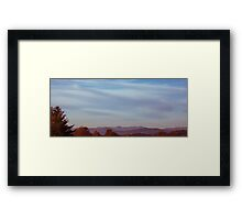 Autumn Beauty Framed Print