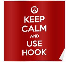 Keep calm and use hook Poster