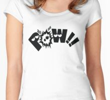 POW POW Women's Fitted Scoop T-Shirt
