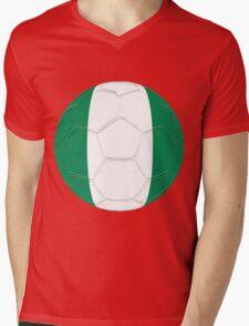 Nigeria Mens V-Neck T-Shirt