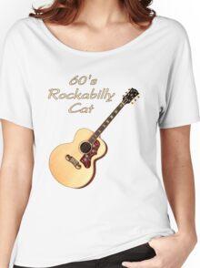 60's Rockabilly Cat  Women's Relaxed Fit T-Shirt