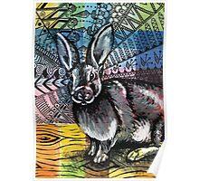 Mystic Rabbit Poster