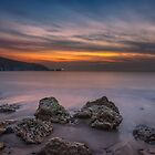 Alum Bay Sunset #2 by manateevoyager