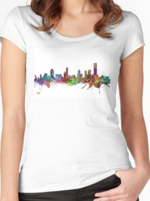 Melbourne Skyline Women's Fitted Scoop T-Shirt