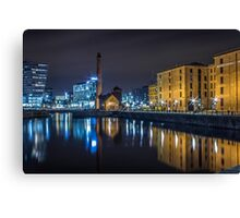 Canning Dock - Liverpool Canvas Print