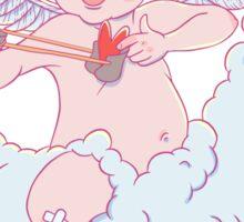 Valentine's day. Funny Cupid  Sticker