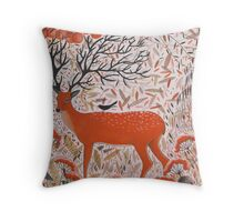 The Fall of Autumn Throw Pillow