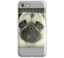 Sad eyed Pug iPhone Case/Skin