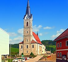 The village church of Reichenau II | architectural photography by Patrick Jobst